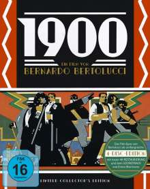 1900 (Limited Collector's Edition) (Blu-ray & CD in Sammlerbox), 3 Blu-ray Discs und 1 CD