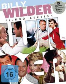 Billy Wilder Filmkollektion (Blu-ray), 5 Blu-ray Discs und 1 DVD
