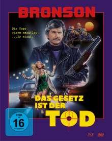 Das Gesetz ist der Tod (Blu-ray & DVD im Mediabook), 1 Blu-ray Disc und 1 DVD