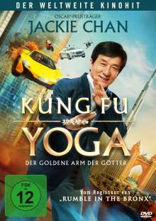 Kung Fu Yoga - Der golde Arm der Götter, DVD