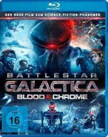 Battlestar Galactica: Blood & Chrome (Blu-ray), Blu-ray Disc