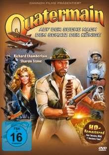 Quatermain - Auf der Suche nach dem Schatz der Könige, DVD