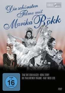 Die schönsten Filme mit Marika Rökk, 4 DVDs