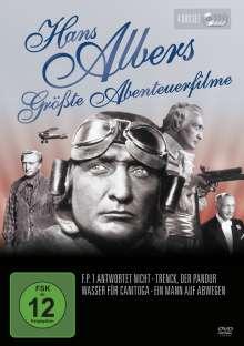 Hans Albers - Größte Abenteuerfilme, 4 DVDs