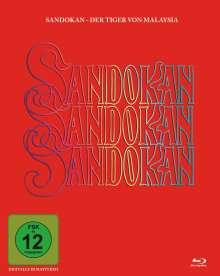 Sandokan - Der Tiger von Malaysia (Blu-ray), 2 Blu-ray Discs