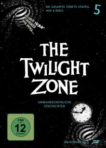 The Twilight Zone Season 5, 6 DVDs