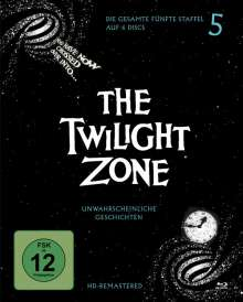 The Twilight Zone Season 5 (Blu-ray), 6 Blu-ray Discs