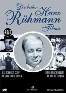 Die besten Heinz Rühmann Filme, 4 DVDs