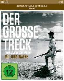 Der große Treck (OmU) (Blu-ray & DVD & Bonus-DVD), 1 Blu-ray Disc und 2 DVDs