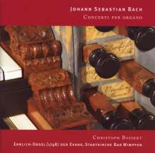 Johann Sebastian Bach (1685-1750): Orgelkonzerte BWV 592-596,971, CD