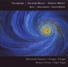 Georg Philipp Telemann (1681-1767): 12 Marches Heroiques für Trompete & Orgel, CD