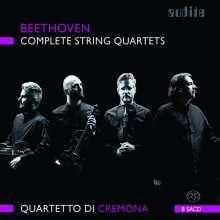 Ludwig van Beethoven (1770-1827): Streichquartette Nr.1-16, 8 Super Audio CDs