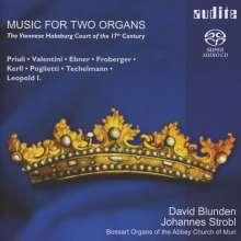 Musik des 17 Jahrhunderts für 2 Orgeln am Habsburger Hof in Wien, Super Audio CD