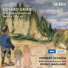 Edvard Grieg (1843-1907): Sämtliche Orchesterwerke Vol.4, Super Audio CD