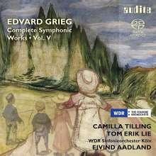 Edvard Grieg (1843-1907): Sämtliche Orchesterwerke Vol. 5, Super Audio CD