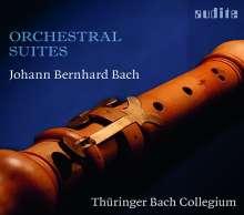 Johann Bernhard Bach (1676-1749): Ouvertüren Nr.1-4, CD