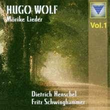 Hugo Wolf (1860-1903): 22 Mörike-Lieder, CD