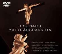 Johann Sebastian Bach (1685-1750): Matthäus-Passion BWV 244, 2 DVD-Audio