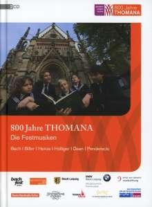 Thomanerchor Leipzig - 800 Jahre Thomana/Die Festmusiken, CD