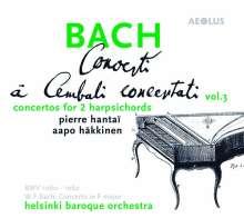 Johann Sebastian Bach (1685-1750): Cembalokonzerte Vol.3, Super Audio CD