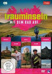 Trauminseln - mit dem Rad auf Korsika, ...Irland, ...Kreta, ...Island, ...Sardinien, 2 DVDs