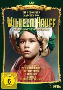 Die schönsten Märchen von Wilhelm Hauff, 4 DVDs