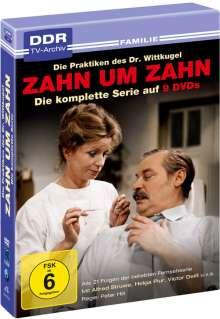 Zahn um Zahn (Komplette Serie), 9 DVDs