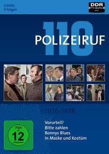 Polizeiruf 110 Box 5: 1976-1978, 2 DVDs