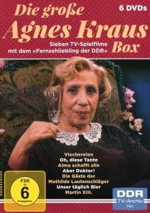 Die große Agnes Kraus Box, 6 DVDs