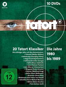 Tatort - Klassiker 80er Box 1-3 (1980-1989), 10 DVDs