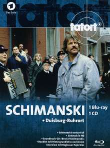 Tatort: Schimanski - Duisburg-Ruhrort (Blu-ray & CD im Mediabook), 1 Blu-ray Disc und 1 CD