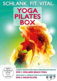 Schlank. Fit. Vital. Yoga Pilates Box, 2 DVDs
