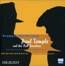 Durbridge, Francis           §Paul Temple und der Fall Jonat, 4 CDs