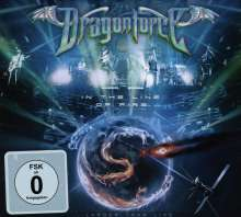 DragonForce: In The Line Of Fire...Larger Than Live 2014 (CD + DVD), 1 CD und 1 DVD