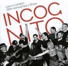 Incognito: Live In London 2014: 35th Anniversary Show, 2 CDs