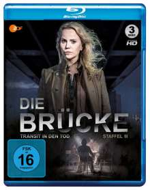 Die Brücke - Transit in den Tod Staffel 3 (Blu-ray), 3 Blu-ray Discs