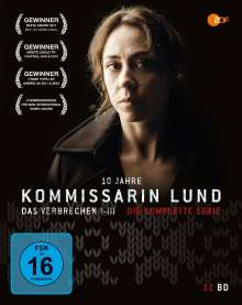 Kommissarin Lund (Komplette Serie) (Blu-ray), 11 Blu-ray Discs