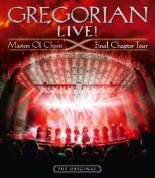 Gregorian: LIVE! Masters Of Chant - Final Chapter Tour, 3 CDs