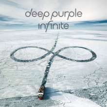 Deep Purple: inFinite (Limited Box Set mit T-Shirt, blaues Albumlogo Gr. L), 1 CD, 1 DVD und 1 T-Shirt
