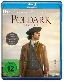 Poldark Staffel 2 (Blu-ray), 3 Blu-ray Discs
