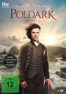 Poldark Staffel 1 (Standard Edition), 3 DVDs