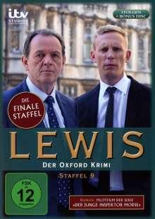 Lewis: Der Oxford Krimi Season 9 (finale Staffel), 4 DVDs