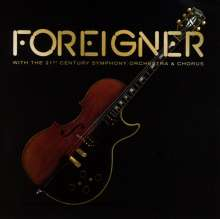 Foreigner: With The 21st Century Symphony Orchestra & Chorus, 1 CD und 1 DVD