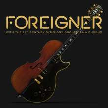 Foreigner: With The 21st Century Symphony Orchestra & Chorus (180g) (Limited Edition), 2 LPs und 1 DVD