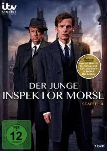 Der junge Inspektor Morse Staffel 4, 2 DVDs