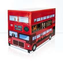 Lewis - Der Oxford Krimi Gesamtbox (Limitierte Sonderedition im Bus-Look), 20 DVDs und 1 CD