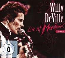 Willy DeVille: Live At Montreux 1994 (CD+DVD Digipak), 1 CD und 1 DVD