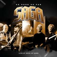 Saga: So Good So Far - Live At Rock Of Ages, 2 CDs und 1 DVD