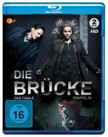 Die Brücke - Transit in den Tod Staffel 4 (finale Staffel) (Blu-ray), 2 Blu-ray Discs