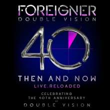 Foreigner: Double Vision: Then And Now - Live Reloaded, 1 CD und 1 DVD